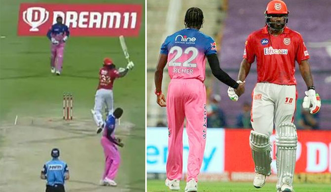 Gayle fined for bat throwing, moments after new T20 record