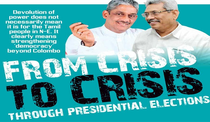 From CRISIS to CRISIS through presidential elections