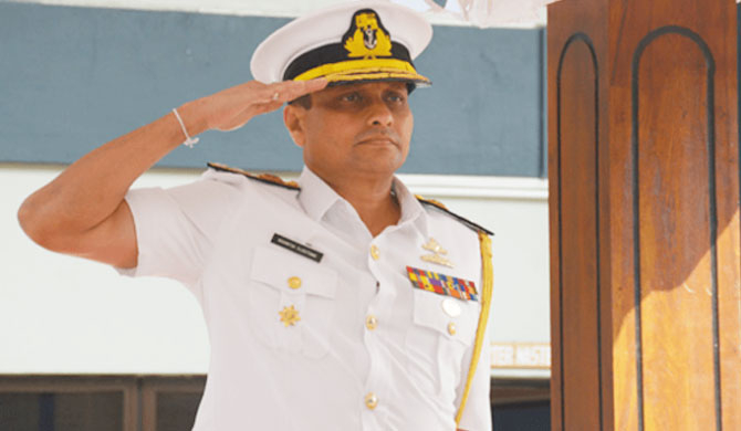 Vice Admiral Nishantha Ulugetenne appointed as new Navy Commander