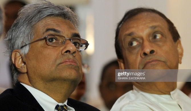 Ranil-Karu from Democratic Alliance: Gota to use video