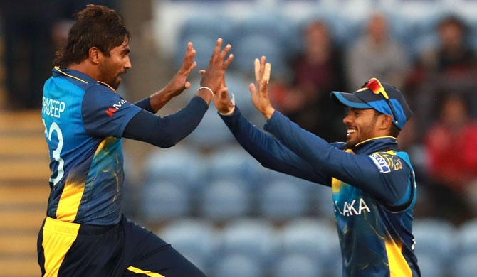 Sri Lanka beat Afghanistan by 34 runs