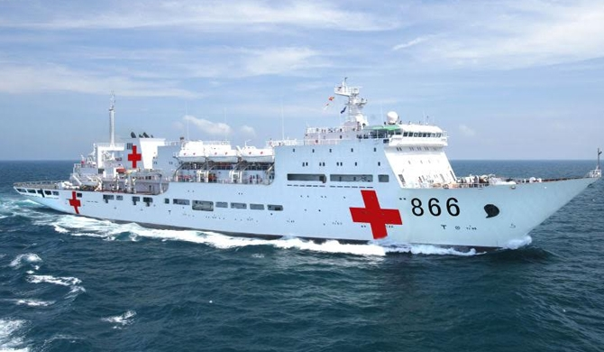 Chinese ship to offer free medical treatment for Lankans