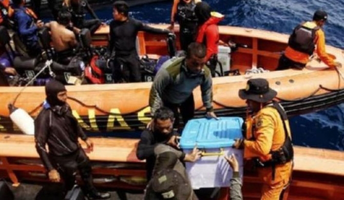 Lion Air black box found