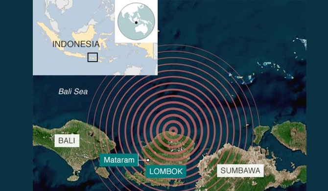Indonesia quake claims 91 lives