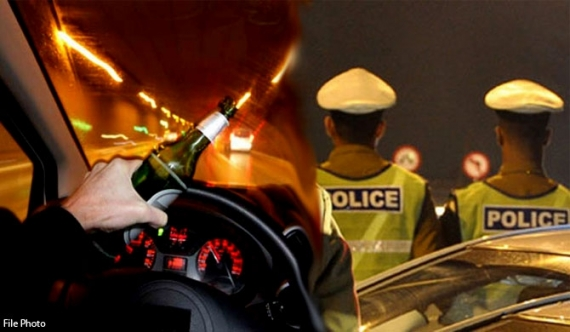 Drunk driving arrests generate Rs. 620 m revenue in 4 months