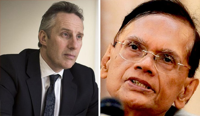 """Rajapaksa regime paid for the holidays by Ian Paisley in 2013"" – G.L. Peiris"