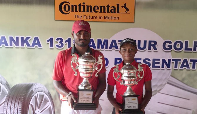 Udesh wins 131st Sri Lanka Amateur Golf C'ship