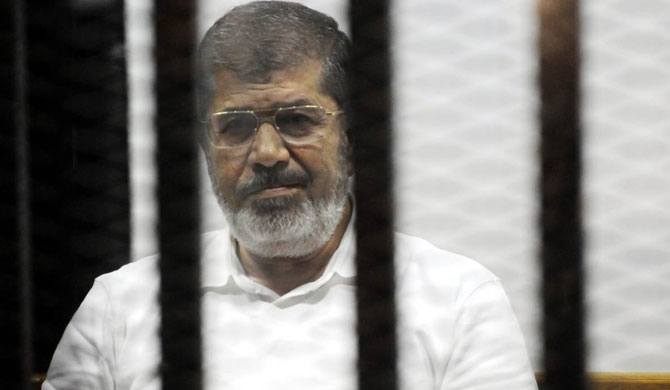 Fmr. Egyptian president Morsi dies in court
