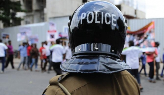 Police protection deployed in Galle