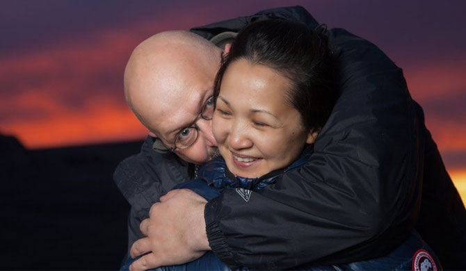 'I started life again in the Arctic... then I fell in love'