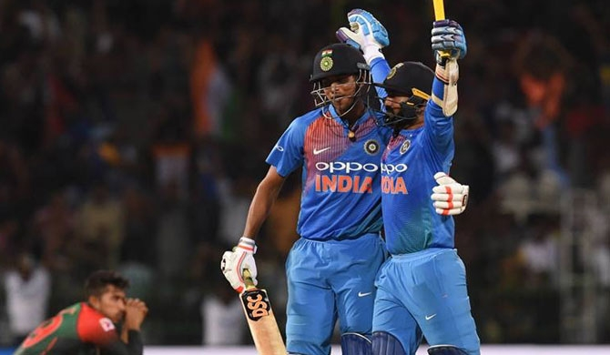 India clinch title with Karthik's stunning last-ball six