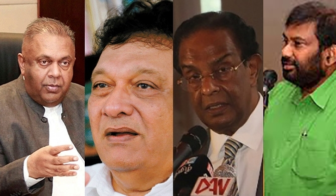 4 Dy. Chairmen for the UNP :  includes 3 Royalists!