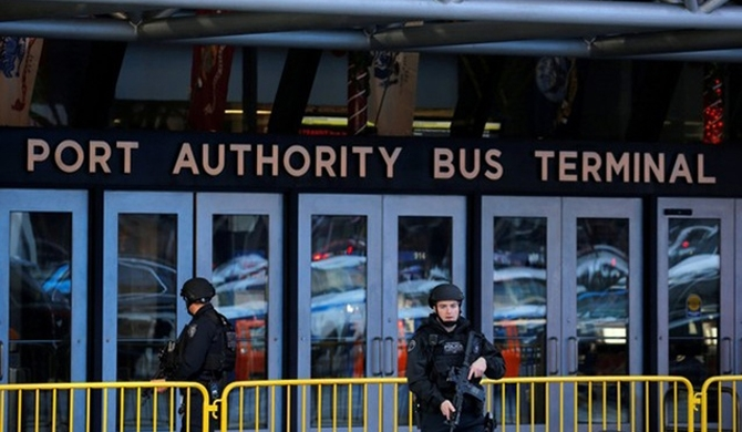 Man held after NYC terror attack