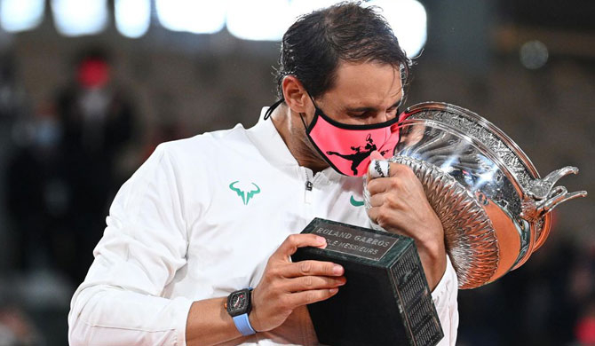 Nadal wins 13th French Open title