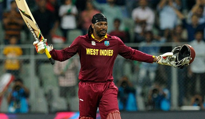 Gayle matches Afridi's record