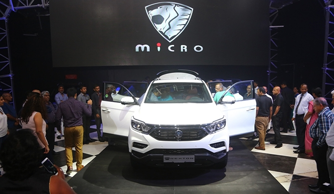 "Micro unveils SsangYong ""G4 Rexton SUV"" (Pics)"
