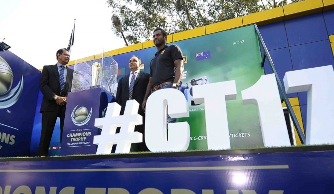 ICC Champions Trophy 2017 in SL (Pics)