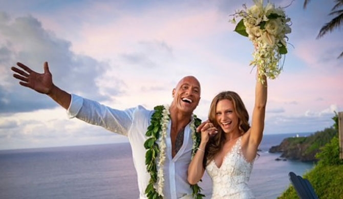 The Rock gets hitched