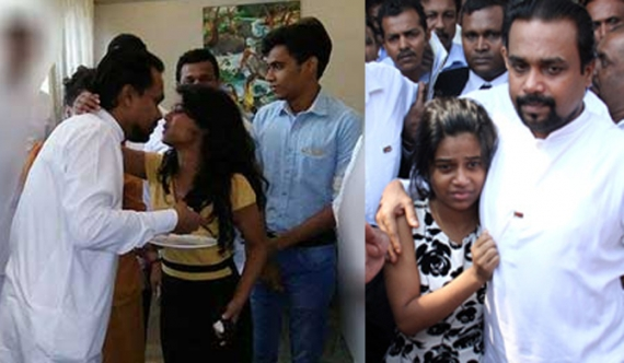 Wimal's 2 children hospitalized