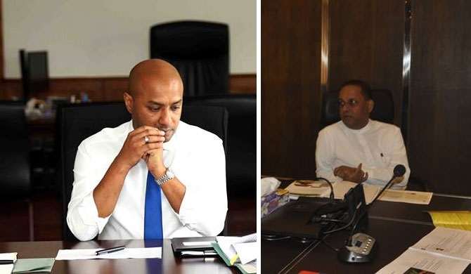 Dissanayake, Amaraweera move to protect SLFP