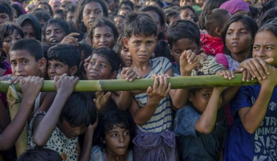 No int'l school education for Rohingya children