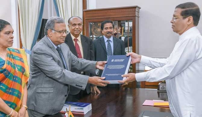 Sri Lankan- Mihin probe report handed over to President