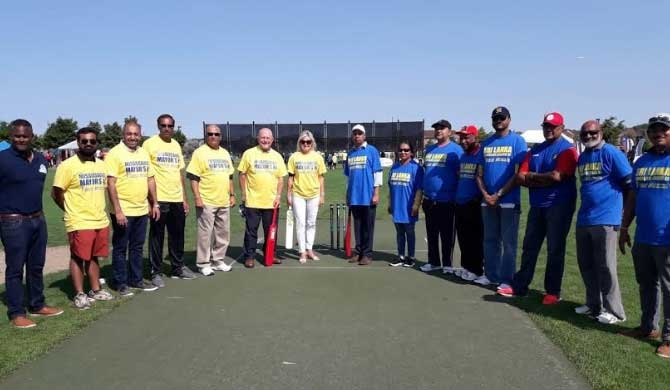 Canada-Sri Lanka Friendship Cricket Cup launched in Toronto