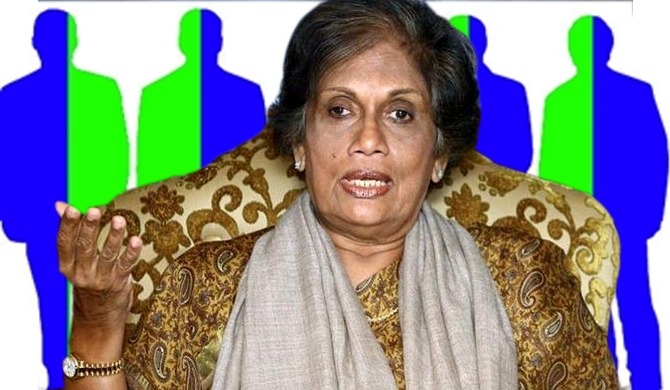 Chandrika mediates in UNP-SLFP dispute!