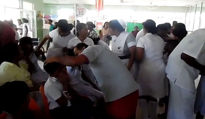 84 students victimized in wasp attack sit for exam (pics)