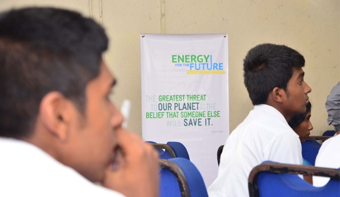 Champions of Green Energy' kick-start energy efficiency at school level