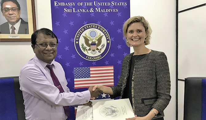 US embassy signs MoU to launch American Corner