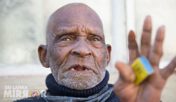World's oldest man dies in South Africa