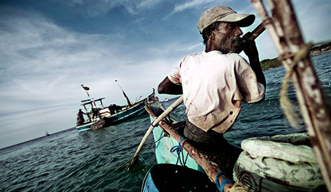 5 Indian fishermen nabbed by Sri Lankan Navy