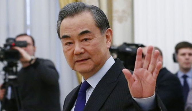 Chinese Foreign Minister on a one-day tour to Sri Lanka