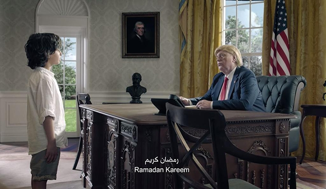 Ramadan themed advert featuring world leaders go viral (Video)
