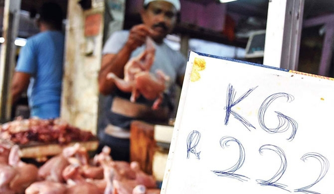 Chicken sales drop in India