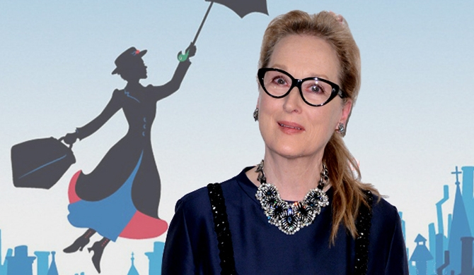 Meryl Streep in Mary Poppins sequel