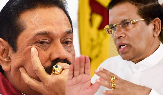 President not in favour of cancelling Mahinda's civic rights