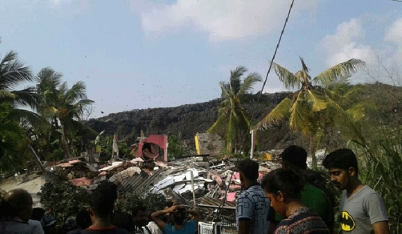 Meethotamulla tragedy claims ten lives: emergency operations continue