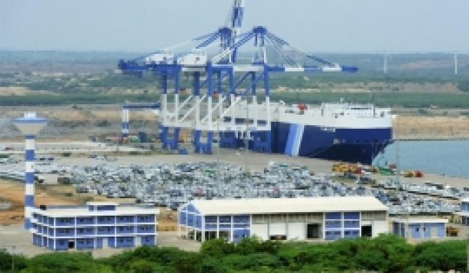 292.1 m USD received for H'tota port
