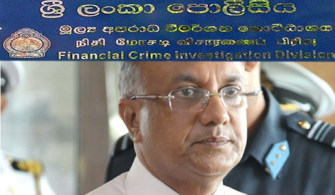 Ex-intelligence chief Hendawitharana to FCID