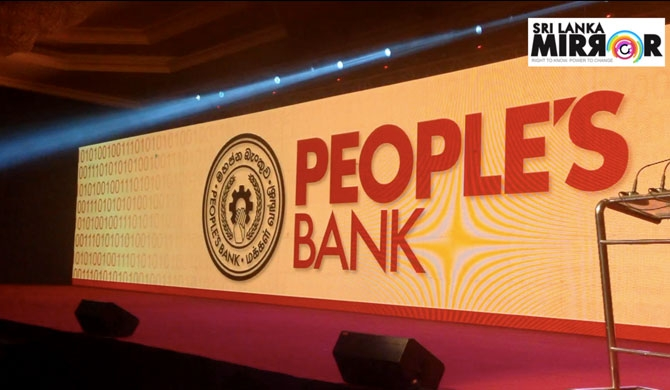 3,607 m loans of People's Bank made non-performing