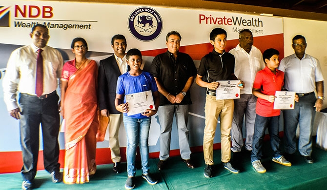 NDB Wealth sponsors 2017 Sri Lanka National Junior Golf