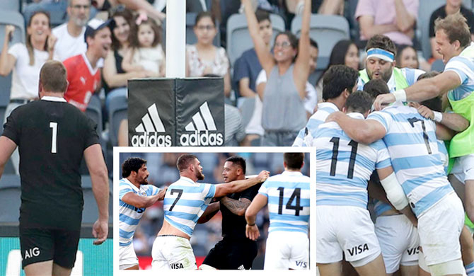 Argentina defeats All Blacks for first time in history