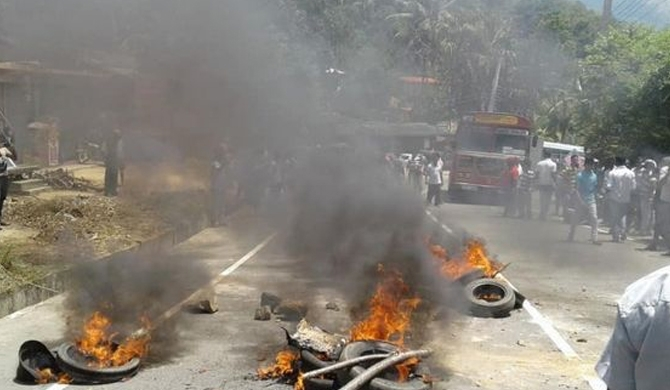 Conspirators in Kandy clashes identified