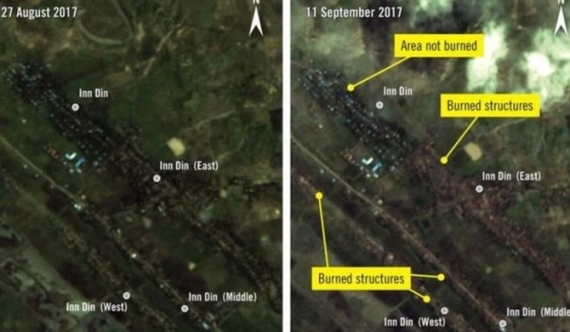 Burning down entire Rohingya villages - AI