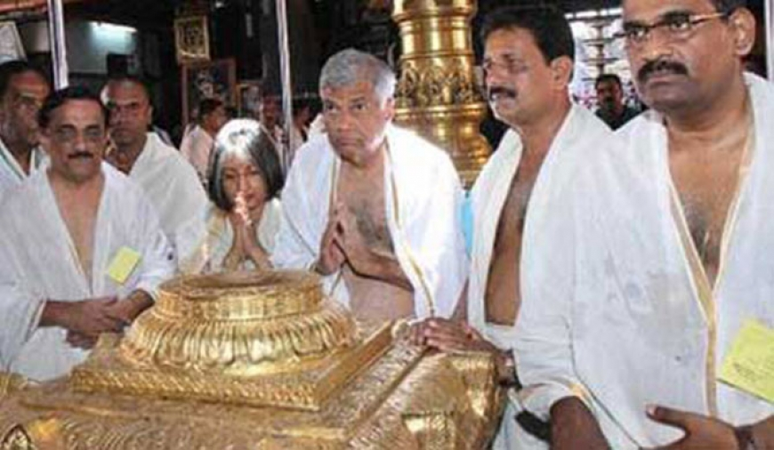 PM offers worship at Tirumala temple