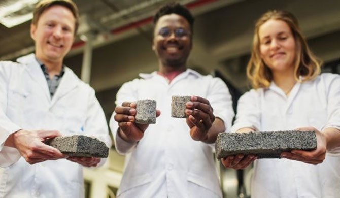 Scientists create urine bricks