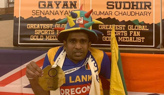 Sri Lanka's Gayan wins World's Best Motivator award (pics)