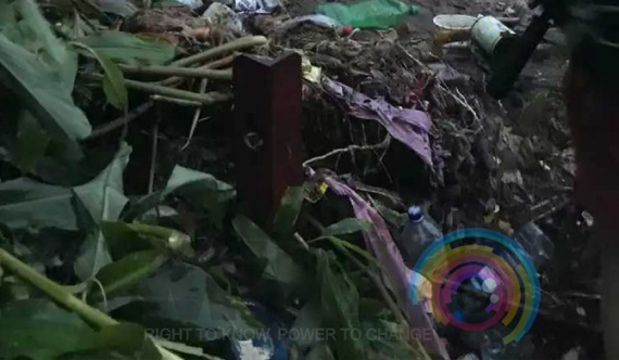 Garbage hill collapses on Sri Pada route (pics)